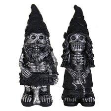 Skeleton Gnome Couple