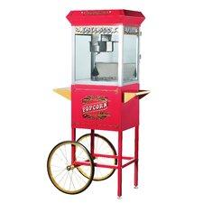 Pasedena 8 Oz. Antique Popcorn Machine with Cart