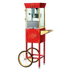 Matinee 8 Oz. Movie Antique Popcorn Machine & Cart