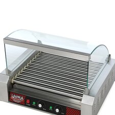 Cover for 11 Roller Commercial Hot Dog Machine