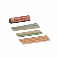 Coin Wrapper, 1000 per Box, Various Denominations