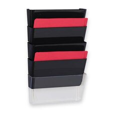 Vertical File System, 3/PK, Black