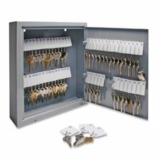 Secure Key Cabinet, Gray, Various Sizes