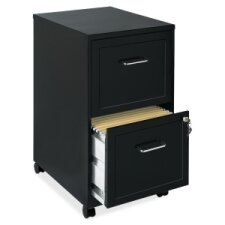 "Soho 18"" 2-Drawer Mobile File Cabinet"