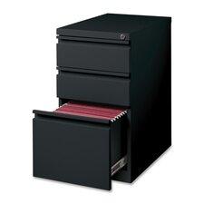 """15"""" W x 22.9"""" D 3-Drawer Mobile Pedestal File"""