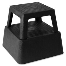 1-Step Plastic Structural Step Stool with 350 lb. Load Capacity