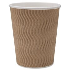 Rippled Hot Cup