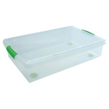 Iris Stor N Slide Unberbed Storage Box (6 Per Carton)