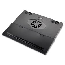 Compucessory Notebook Cooling Stand, Charcoal gray