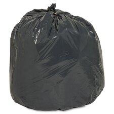 16 Gallon Recycled Trash Bags, .75mil,  500 per Box