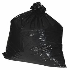 (100 per Carton) 40-45 Gallon Recycled Trash Bags, 1.35mil