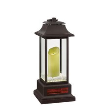 1600 Watt Portable Electric Forced Air Flameless Candle Lantern Infrared Heater