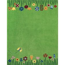 Meadow Green Area Rug