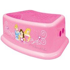 1-Step Plastic Disney Princess Step Stool with 200 lb. Load Capacity