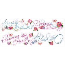 Princess Quotes Wall Decal
