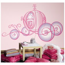 Princess Carriage Wall Decal