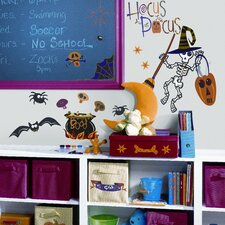 Seasonal 30 Piece Halloween Wall Decal