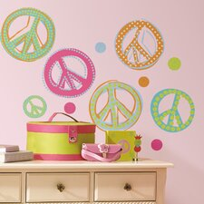 Studio Designs Peace Signs Wall Decal
