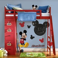 Mickey Chalkboard Wall Decal