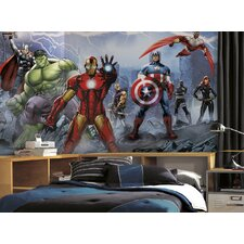 Prepasted Avengers Assemble Wall Mural