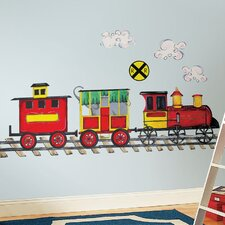 Megapacks 57 Piece All Aboard Wall Decal