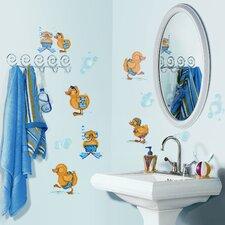 Studio Designs 29 Piece Bubble Bath Wall Decal Set