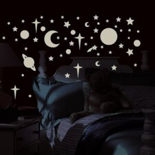 Studio Designs 258 Piece Celestial Wall Decal
