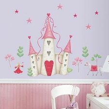 Studio Designs 21 Piece Princess Castle Giant Wall Decal