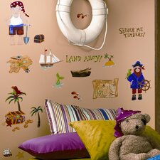 Studio Designs 45 Piece Treasure Hunt Wall Decal