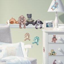 Studio Designs 23 Piece Cuddle Buddies Wall Decal