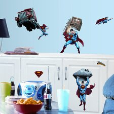 Favorite Characters 21 Piece Superman Day of Doom Wall Decal