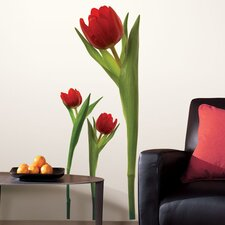 Room Mates Deco 3 Piece Tulip Wall Decal