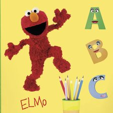 Sesame Street Licensed Designs Elmo Giant Wall Decal