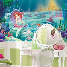 Littlest Mermaid Wall Mural