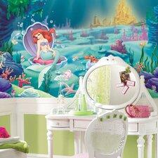 Littlest Mermaid Wall Mural