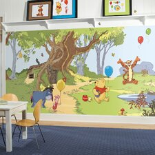 Pooh and Friends Wall Mural