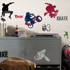 Studio Designs Extreme Sports Wall Decal