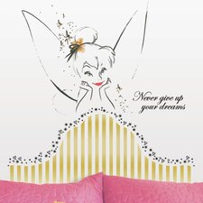 Popular Characters Disney Fairies Tinkerbell Headboard Giant Wall Decal