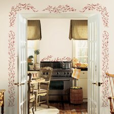 Deco Berry Vine Wall Decal