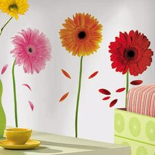 Deco Gerber Daisies Wall Decal