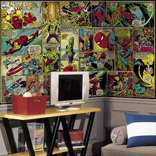 Prepasted Marvel Classics Wall Mural