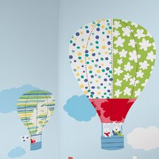 Hot Air Balloons Giant Wall Decal
