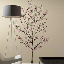 Deco 33 Piece Blossom Tree Wall Decal