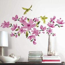 Deco 35 Piece Flowering Vine Wall Decal