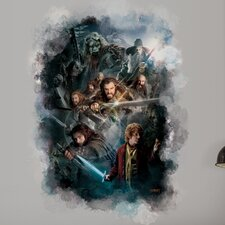 Peel and Stick The Hobbit Cast Ensemble Wall Mural