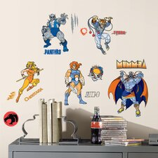 Peel and Stick Giant 34 Piece Thundercats Wall Decal