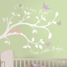 Studio Designs Rockabye Bird Branch Giant Wall Decal