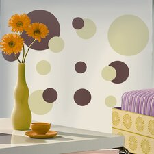Studio Designs 31 Piece Just Dots Wall Decal