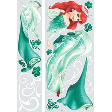 22 Piece Disney Princess Ariel Giant Wall Decal Set
