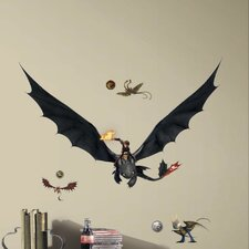 How to Train Your Dragon 2 Hiccup and Toothless Giant Wall Decal